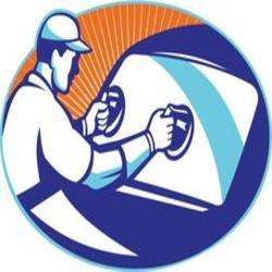 lincoln glass repair logo